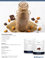 Ketogenic Chocolate Nut Shake